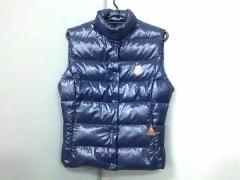 モンクレール MONCLER ダウンベスト サイズ1 S レディース 美品 パープル 冬物【中古】