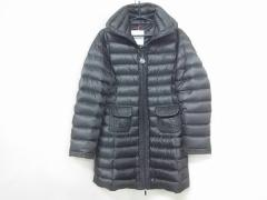 モンクレール MONCLER ダウンコート サイズ0 XS レディース ダークブラウン 冬物【中古】