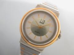 ダンヒル dunhill/ALFREDDUNHILL 腕時計 美品 - - レディース 白×ゴールド【中古】