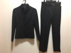 イネド INED レディースパンツスーツ サイズ9 M レディース 黒【中古】