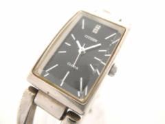 シチズン CITIZEN 腕時計 CLETIA 5431-H18881 レディース 黒【中古】