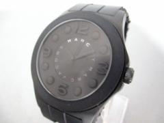 マークジェイコブス MARC BY MARC JACOBS 腕時計 MBM2511 ボーイズ 黒【中古】
