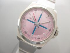 ポールスミス PaulSmith 腕時計 1032-T001599TA レディース ピンク【中古】