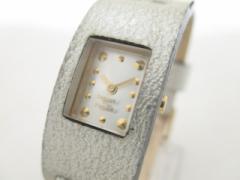 ズッカ ZUCCA 腕時計 美品 - 確認できず レディース CABANEdeZUCCA シルバー【中古】