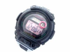 カシオ CASIO 腕時計 Baby-G/G-LIDE BLX-102 レディース ラバーベルト 黒×ピンク×マルチ【中古】