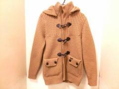 バーク Bark ダッフルコート サイズS メンズ 美品 ブラウン ニット/冬物【中古】