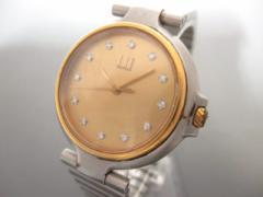 ダンヒル dunhill/ALFREDDUNHILL 腕時計 ミレニアム - ボーイズ 12Pダイヤ ゴールド【中古】