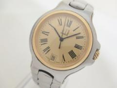ダンヒル dunhill/ALFREDDUNHILL 腕時計 ロンディニウム - レディース ゴールド【中古】