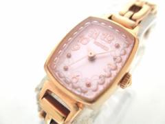 ワイアード WIRED 腕時計 美品 1N01-0RL0 レディース ピンク【中古】