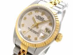ロレックス ROLEX 腕時計 79173 レディース アイボリー【中古】