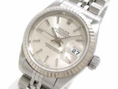 ロレックス ROLEX 腕時計 デイトジャスト 79174 レディース シルバー【中古】