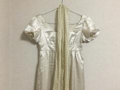 ラストシーンガール LASTSCENEGIRL ドレス レディース 新品同様 アイボリー スカーフ【中古】