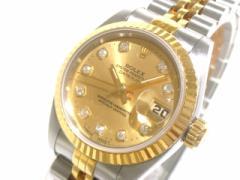 ロレックス ROLEX 腕時計 デイトジャスト 69173G レディース ゴールド【中古】