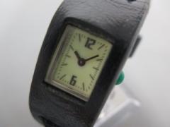 ズッカ ZUCCA 腕時計 V220-6430 レディース CABANE de ZUCCA アイボリー【中古】