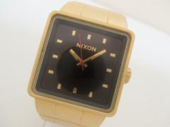 ニクソン NIXON 腕時計 美品 THE QUATRO 8K メンズ ダークブラウン【中古】