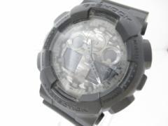 カシオ CASIO 腕時計 G-SHOCK GA-100CF メンズ ラバーベルト 黒【中古】