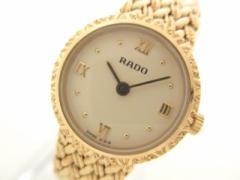 ラドー RADO 腕時計 133.3587.2 レディース アイボリーベージュ【中古】