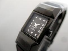 ズッカ ZUCCA 腕時計 V220-0AF0 レディース CABANEdeZUCCA 黒【中古】