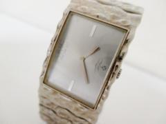 ヴィヴィアン Vivienne Westwood MAN 腕時計 VW-3015 メンズ シルバー【中古】