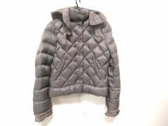 モンクレール MONCLER ダウンジャケット サイズ1 S レディース 美品 ミサ ブラウン モンクレールS/冬物【中古】