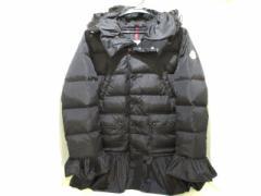 モンクレール MONCLER ダウンコート サイズ00 XS レディース SERRE 黒 モンクレールS/冬物【中古】