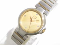 ダンヒル dunhill/ALFREDDUNHILL 腕時計 ミレニアム - レディース 4Pダイヤ ゴールド【中古】