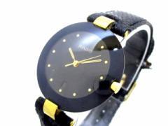 ラドー RADO 腕時計 129.4077.4N レディース 型押し革ベルト 黒【中古】