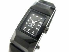 ズッカ ZUCCA 腕時計 V220-OAFO レディース CABANEdeZUCCA 黒【中古】