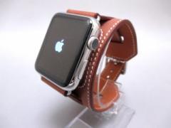 白ロム なし 携帯電話 Apple Watch Hermes 42mm カフ  /MLCE2J/A ヴォー・バレニア(フォーヴ)【中古】