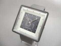 アピタイム appetime 腕時計 美品 VJ21-5030 レディース ラバーベルト ダークグレー【中古】