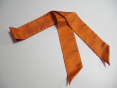 エルメス HERMES スカーフ レディース 美品 ツィリー オレンジ【中古】