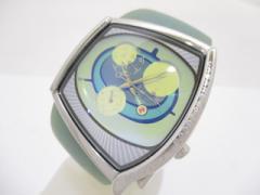 ズッカ ZUCCA 腕時計 HAPPY・EYES 5Y85-0AD0 レディース CABANE de ZUCCA/ラバーベルト/トリプルカレンダー【中古】