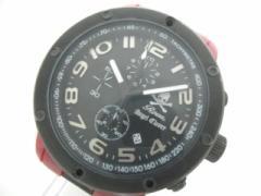 ロエン Roen 腕時計 ES43 メンズ クロノグラフ/AngelClover 黒【中古】