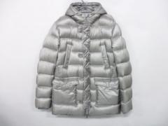 ヘルノ HERNO ダウンジャケット サイズ52 L メンズ 美品 グレー【中古】