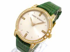 ハリーウィンストン HARRY WINSTON 腕時計 ミッドナイト32 MIDQHM32RR002 / 450/LQ32R レディース 白×K18RG×ダイヤモンド【中古】
