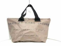 マークバイマークジェイコブス MARC BY MARC JACOBS ハンドバッグ レディース - グレー×ダークグレー PVC(塩化ビニール)【中古】