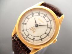 バーバリーズ Burberrys 腕時計 2930-293347Y レディース 革ベルト アイボリー【中古】