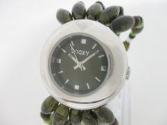 ロキシー Roxy 腕時計 W130BZ レディース ビーズ カーキ【中古】