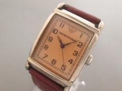 アルマーニ EMPORIOARMANI 腕時計 AR-0204 メンズ 社外革ベルト ベージュ【中古】