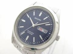 レグノ REGUNO 腕時計 SOLAR-TECH E101-S028221 メンズ ネイビー【中古】
