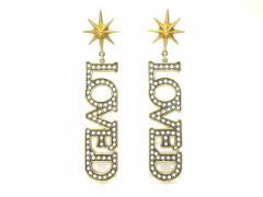de58b77b2dba グッチ GUCCI ピアス レディース - 金属素材 ゴールド×シルバー LOVED【中古】