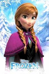 アナと雪の女王 アナ ポスター