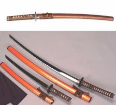 金茶 小刀 【日本刀 OG-6・模造刀・美術刀】