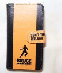 Bruce Lee 李小龍 手帳型スマホ・マルチケース  BRUCE LEE CLUB (ブルース・リー クラブ・李小龍會)公認 (ライセンス商品)