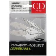 【Goods】 CD MULTI CASE SLIM TYPE CLEAR