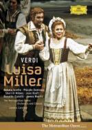 【DVD】 Verdi ベルディ / 歌劇『ルイザ・ミラー』全曲 ドミンゴ、スコット、レヴァイン&メトロポリタン歌劇場