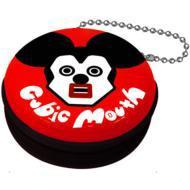 【Goods】 キュービックマウス 携帯シール入りジッパー缶ケース ミッキー(Red)