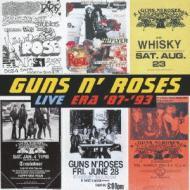 【SHM-CD国内】 Guns N Roses ガンズアンドローゼズ / Live Era 87-93  (プラケース仕様)
