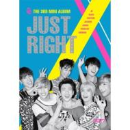 【CD】 GOT7 / 3rd Mini Album:  JUST RIGHT