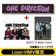 【Goods】 オリジナルマフラータオル&クリアファイル2枚セット / One Direction【Loppi・HMV限定】